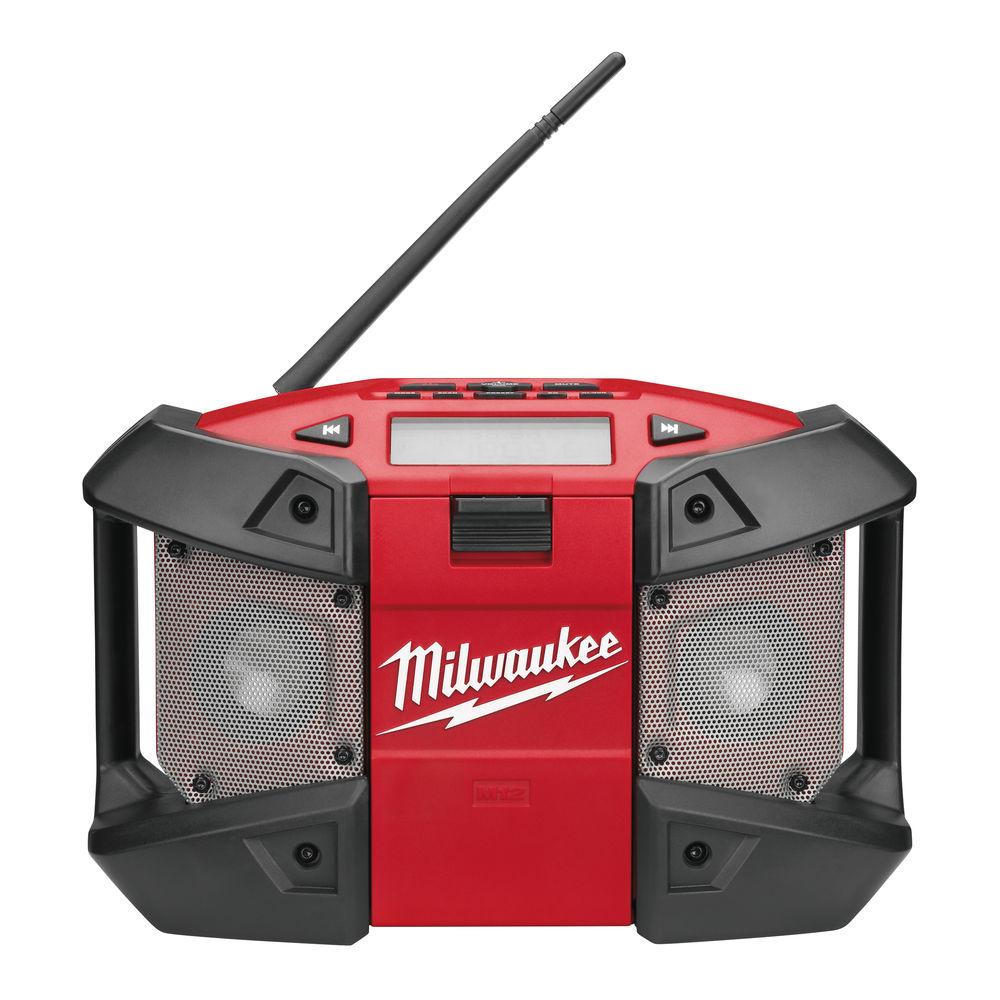 MILWAUKEE C12JSR 12V COMPACT JOBSITE RADIO & AUX - BODY ONLY
