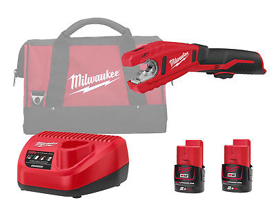 Milwaukee C12PC 12V Sub Compact Copper Pipe Cutter 12mm - 28mm - 2.0ah Pack