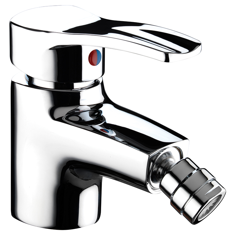 BRISTAN CAPRI BIDET MIXER WITH POP-UP WASTE
