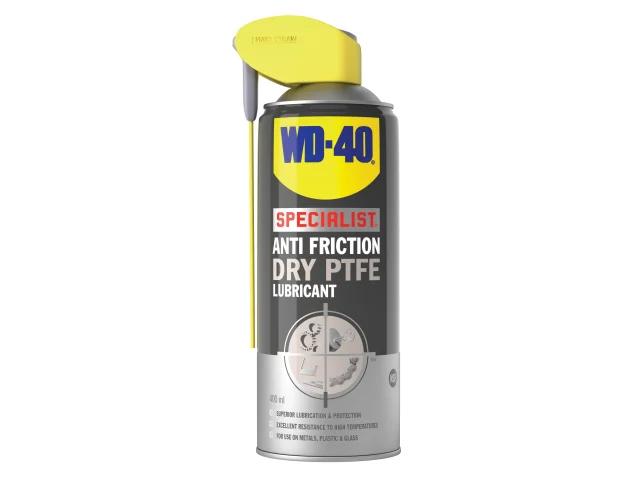 WD-40 Specialist Dry PTFE Aerosol Smart Straw 400ml - 44395
