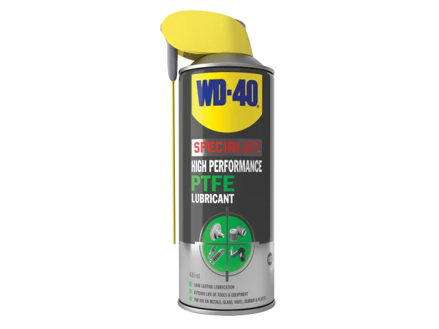 WD-40 Specialist High Performance PTFE Lubricant Aerosol Smart Straw 400ml - 44396