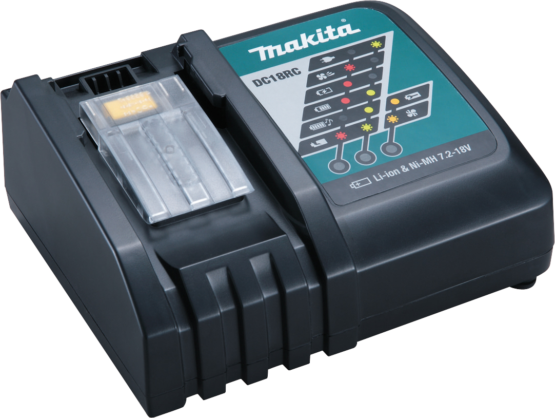 MAKITA 14.4V - 18V RAPID CHARGER - DC18RC - 110V