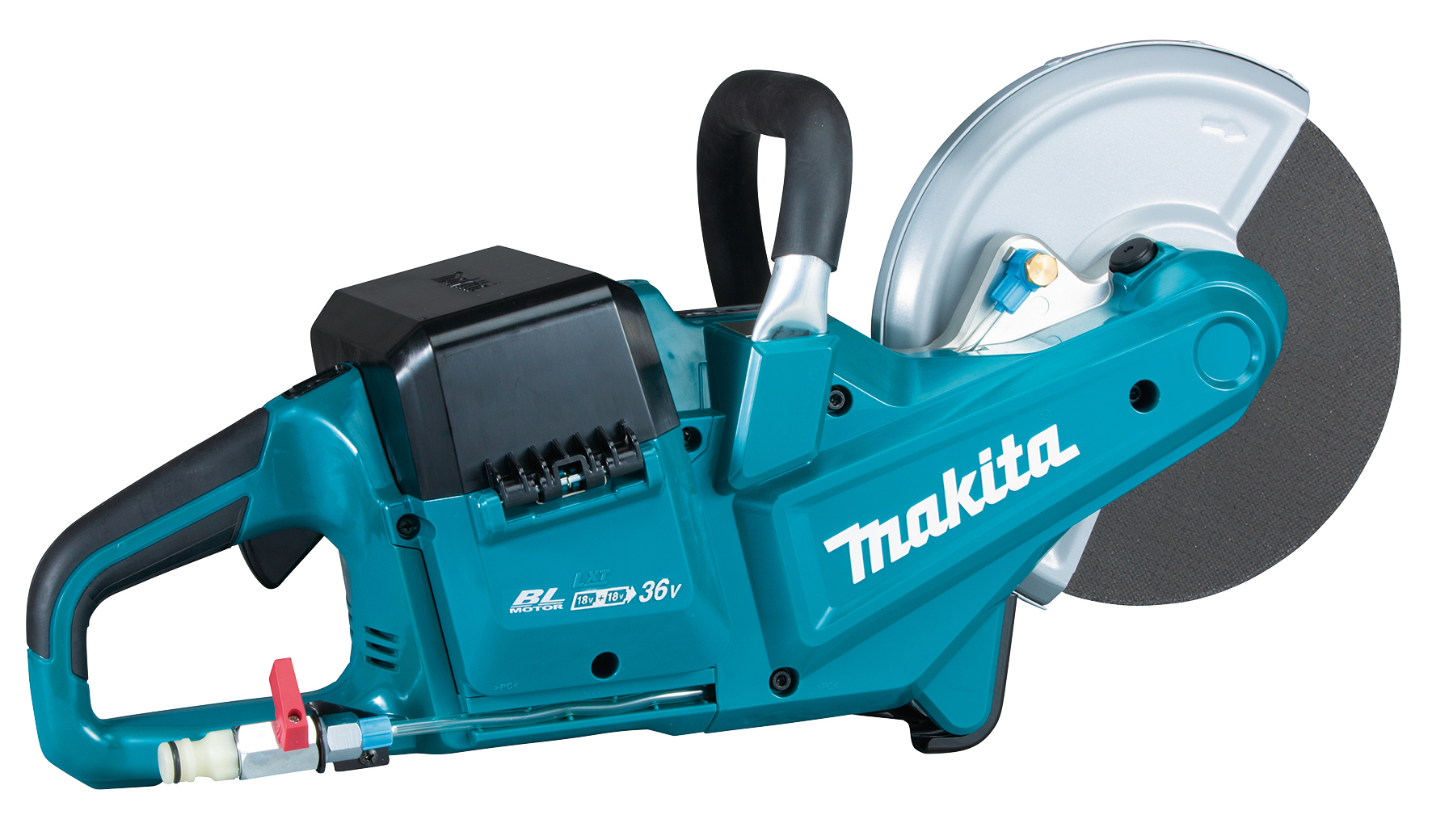 Makita DCE090ZX1 36V (18V Twin) Brushless 9In/230mm Disc Cutter - Body Only