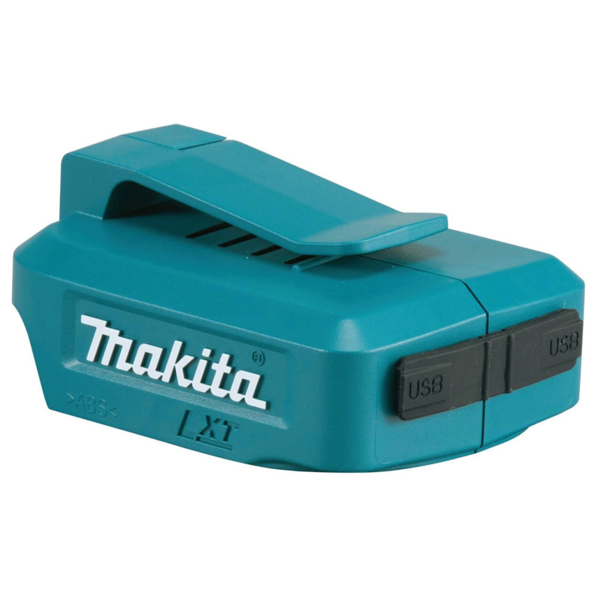 MAKITA LI-ION TWIN USB ADAPTER 14.4V & 18V - POWER PORT ADAPTER -  DEAADP05