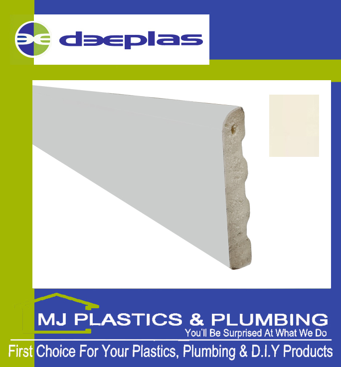 40MM X 6MM ARCHITRAVE - CREAM