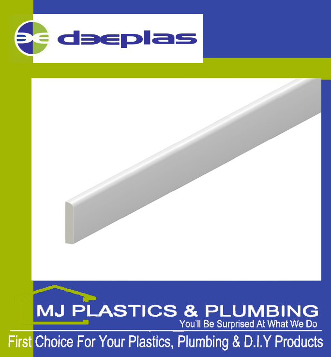 45MM BULLNOSE ARCHITRAVE TRAFFIC WHITE