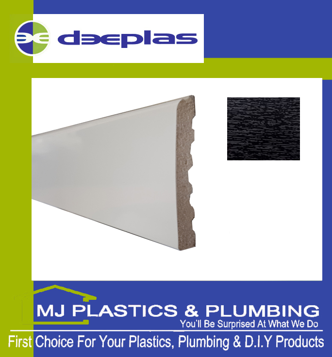 90MM X 6MM ARCHITRAVE - BLACK ASH