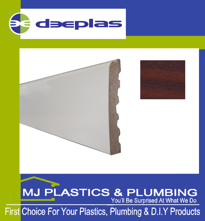 90MM X 6MM ARCHITRAVE - MAHOGANY
