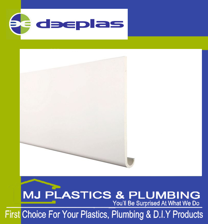 DEEPLAS 160MM HOCKEY NOSE WINDOWBOARD / FASCIA WHITE 0003