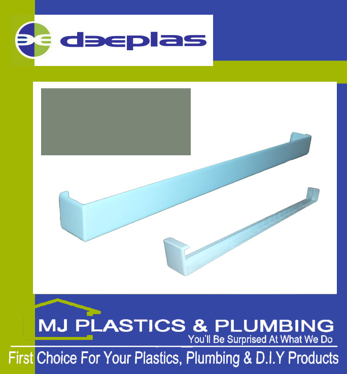 FASCIA JOINT DOUBLE ENDED SQUARE EDGE 500MM CHARTWELL GREEN