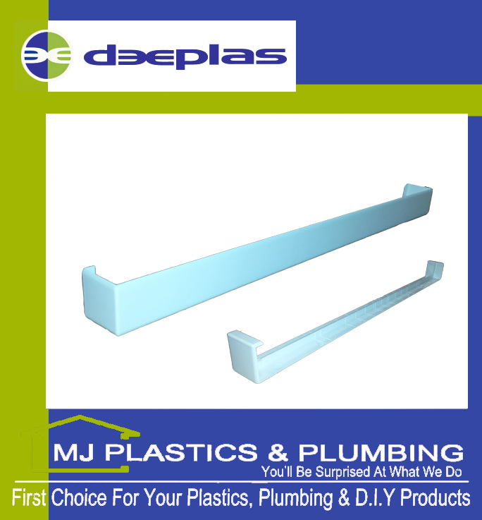 DEEPLAS FASCIA JOINT DOUBLE ENDED SQUARE EDGE 500MM TRAFFIC WHITE