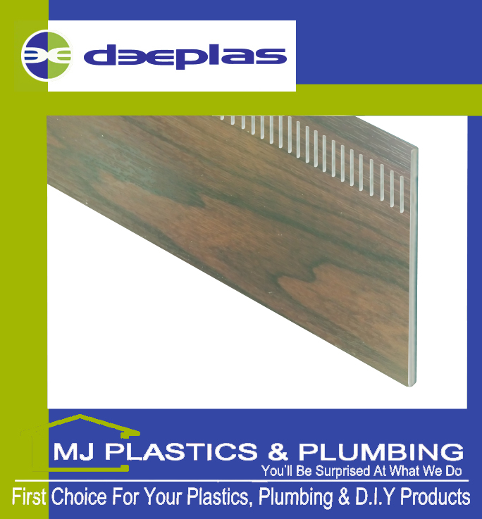 400MM FLAT PLANK UNIBOARD ROSEWOOD SLOTTED