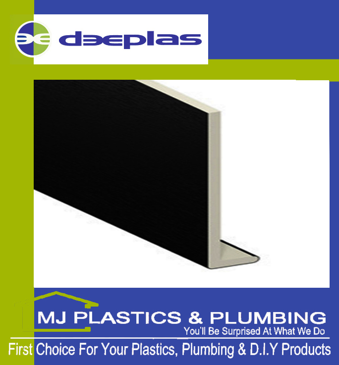 DEEPLAS 150MM CAPPING BOARD SQUARE EDGE BLACK ASH