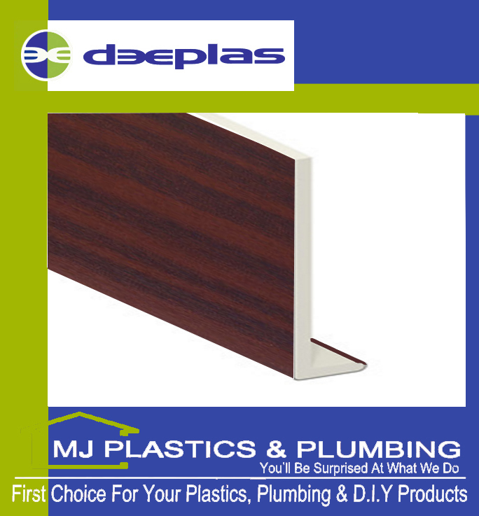 DEEPLAS 200MM CAPPING BOARD SQUARE EDGE MAHOGANY