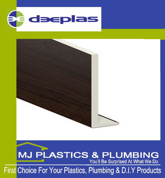 DEEPLAS 200MM CAPPING BOARD SQUARE EDGE ROSEWOOD