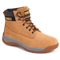 DEWALT APPRENTICE BOOTS HONEY NU-BUCK FLEXI HIKER BEIGE - SIZE 5
