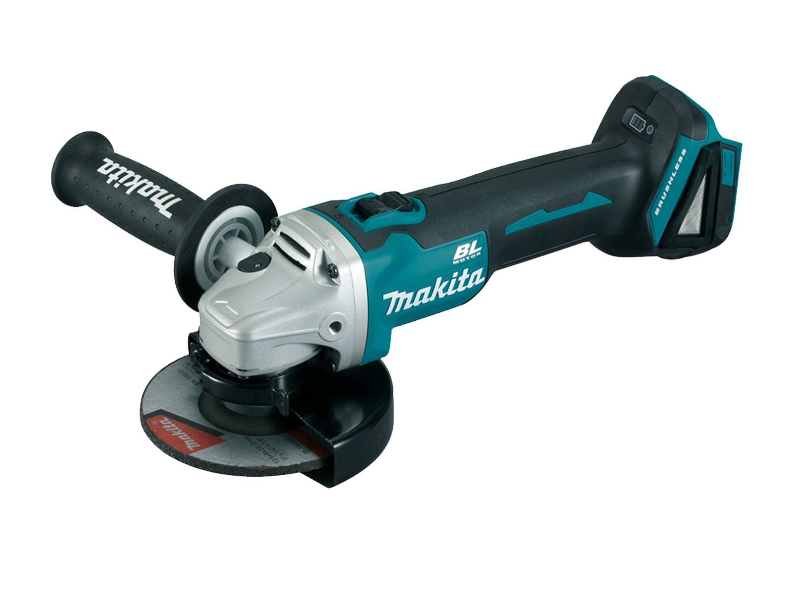 Makita DGA513 18V Brushless 125mm Angle Grinder LXT - Body Only