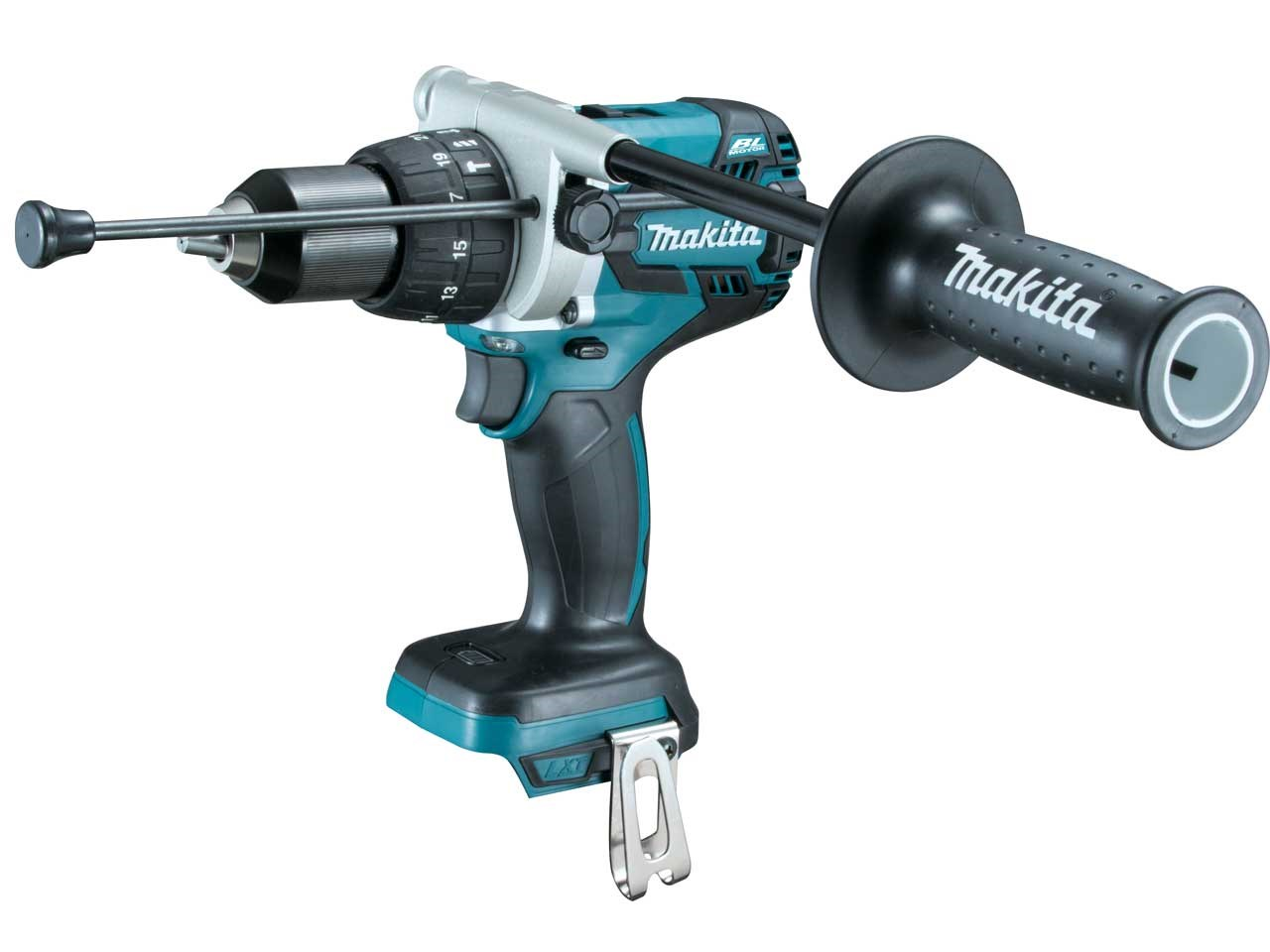 MAKITA 18V BRUSHLESS HEAVY-DUTY COMBI DRILL LXT - DHP481 - BODY ONLY