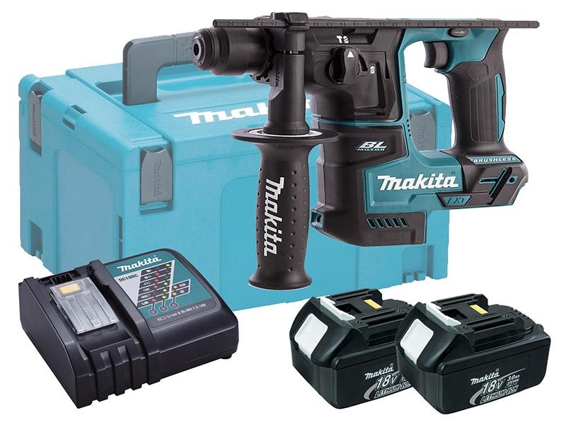 Makita 18V Brushless Rotary Hammer Drill 17mm - DHR171 - 3.0Ah Pack