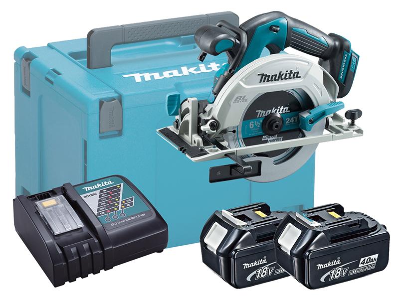 Makita DHS680 18V Brushless 165mm Circular Saw LXT - 4.0Ah Kit
