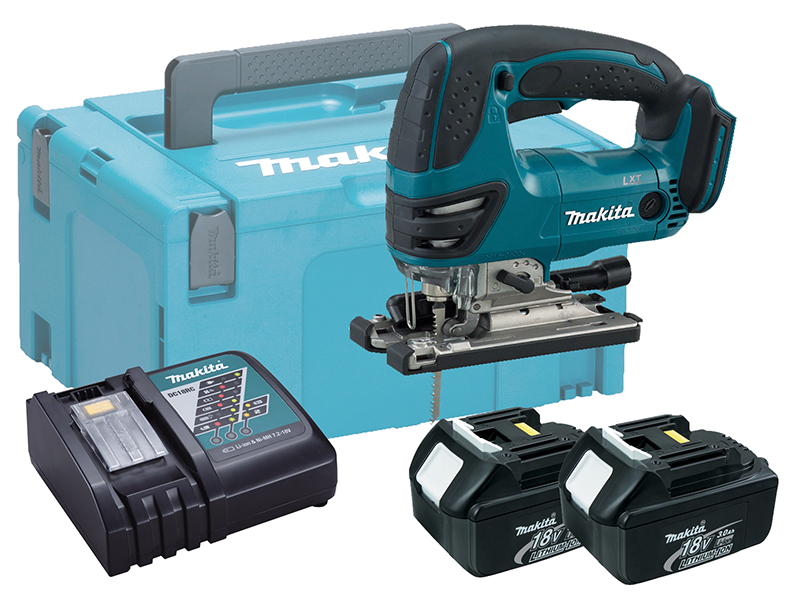 Makita DJV180 18V Brushed LXT Jigsaw Top Handle - 3.0ah Pack