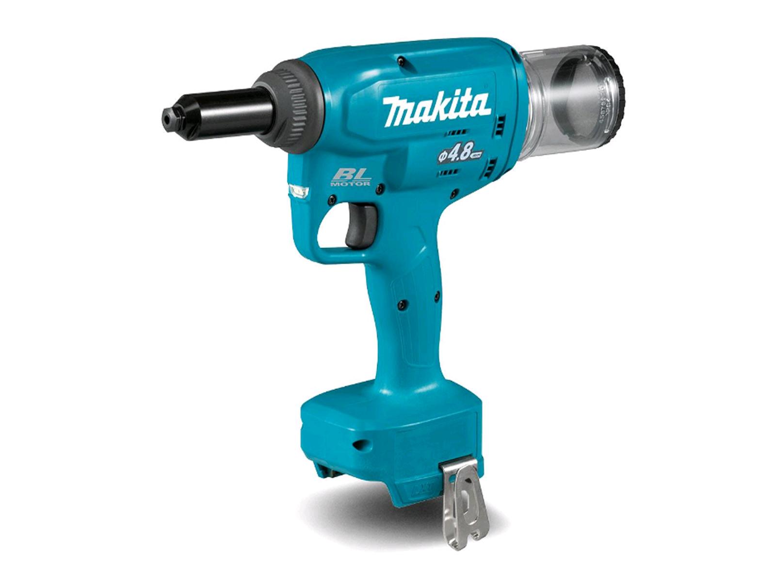 Makita DRV150Z 18V Brushless Rivet Gun LXT 2.4mm - 4.8mm Rivets - Body Only