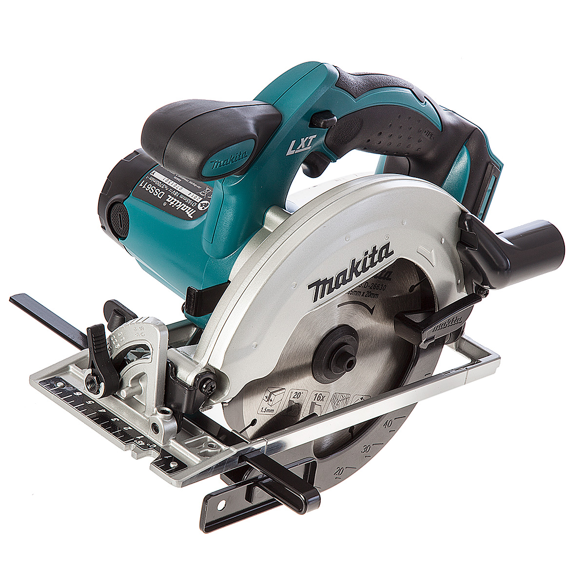 Makita DSS611 18V Brushed 165mm Circular Saw LXT - Body Only