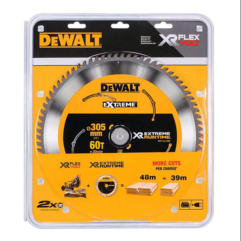 DEWALT XR CIRCULAR SAW BLADE - 305MM X 30MM X 60TH - DT99575-QZ