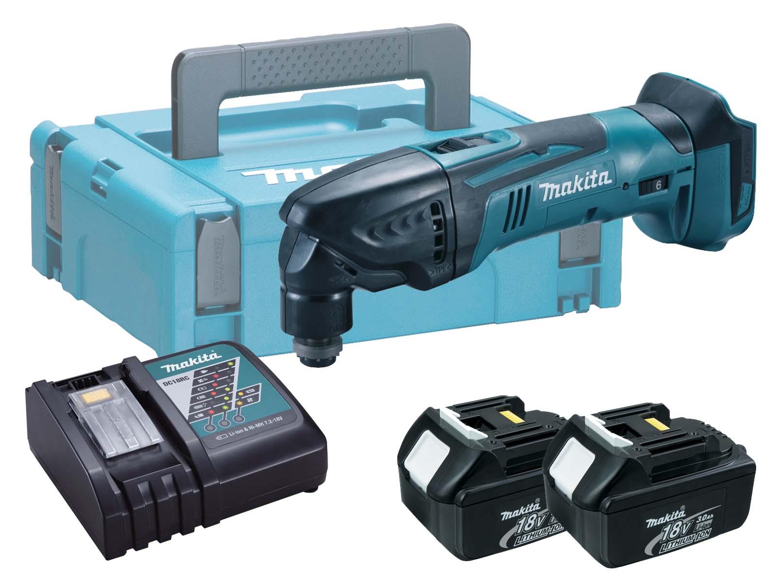 Makita 18V Brushed Multi Tool LXT - DTM50 - 3.0Ah Pack