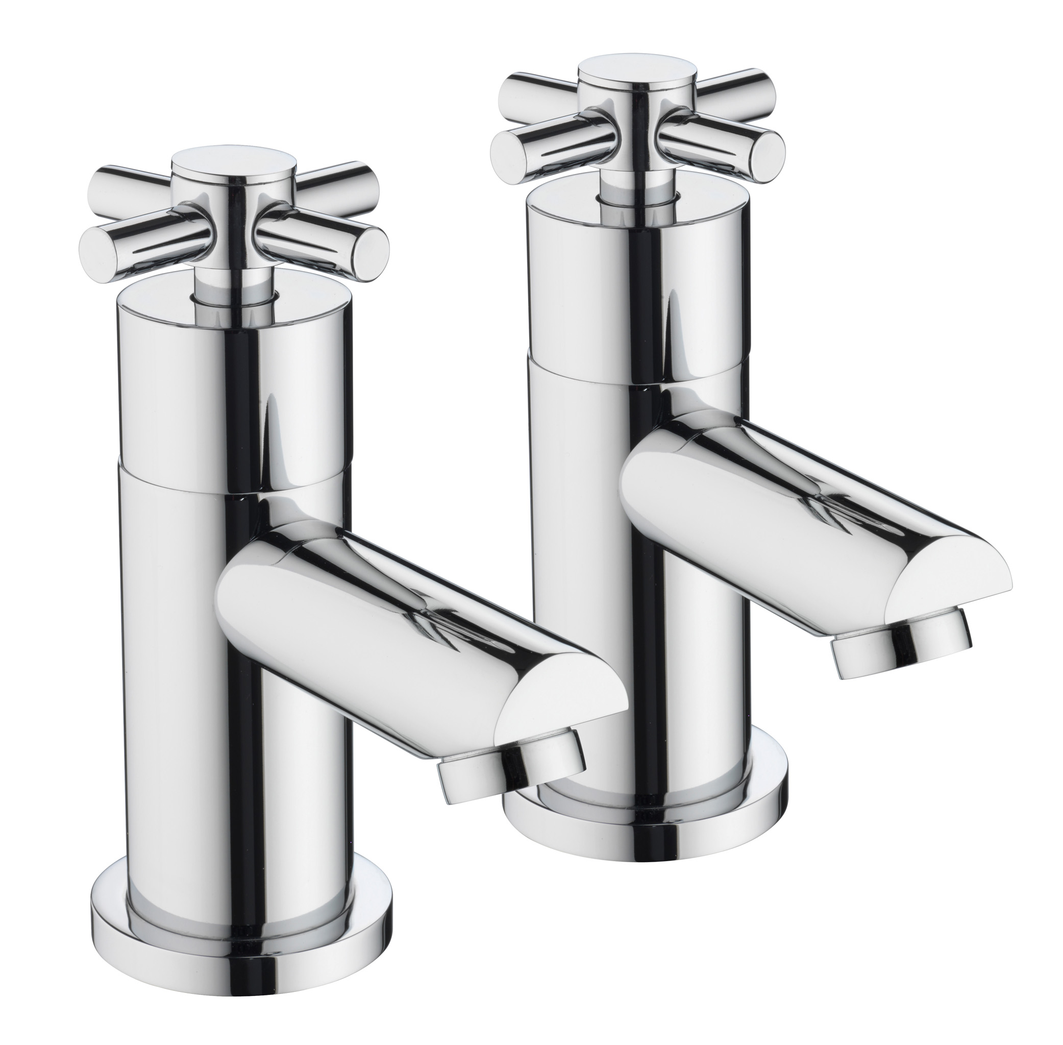 BRISTAN DECADE BATH TAPS CHROME
