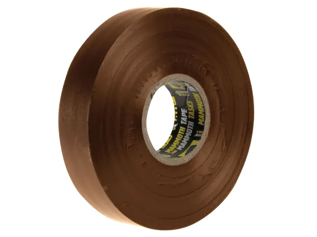 EVERBUILD ELECTRICAL PVC INSULATION TAPE - BROWN - 19MM X 33M - 2ELECBN