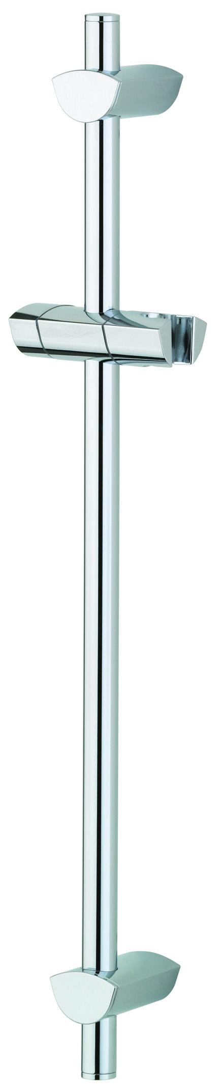 BRISTAN EVO RISER RAIL WITH ADJ FIXING BRACKETS 660MM CHROME - EVC ADR01 C