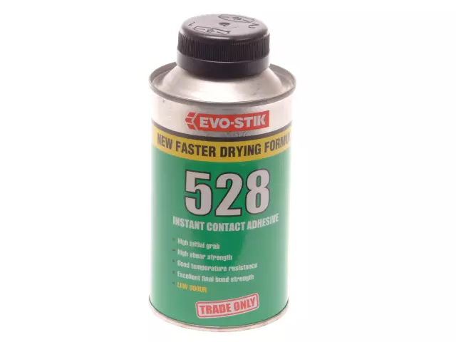 EVOSTIK 528 INSTANT CONTACT ADHESIVE 500ML