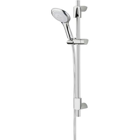 BRISTAN EVO SHOWER KIT WITH 3 FUNCTION RUB-CLEAN HANDSET CHROME - EVC KIT02 C