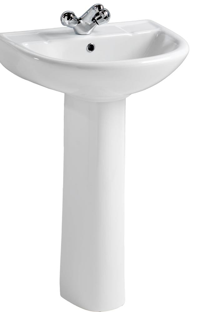 QX EBONY 1 TH BASIN & PEDESTAL