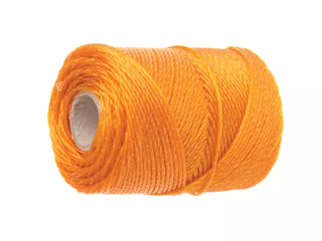 FAITHFULL ORANGE POLY BRICK LINE 100M