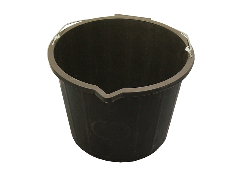 FAITHFULL 3 GALLON 14LTR BUCKET BLACK
