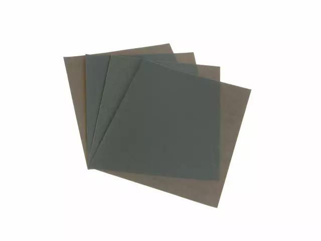 FAITHFULL WET & DRY PAPER SANDING SHEETS 230 X 280MM ASSORTED PACK OF 4