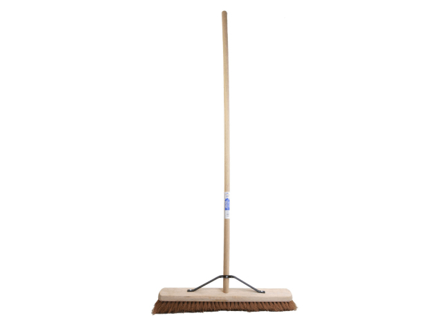 FAITHFULL BROOM SOFT COCO 60CM (24IN) + HANDLE & STAY - TSCABRCOCO24