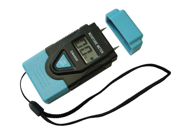 FAITHFULL DAMP AND MOISTURE METER LCD DISPLAY