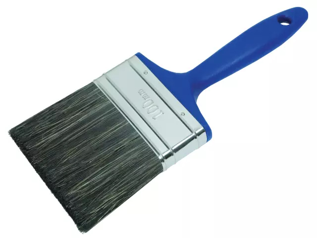 FAITHFULL SHED AND FENCE PAINT BRUSH 100MM (4 IN)