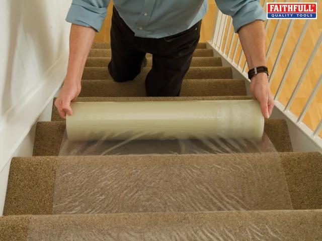 Faithfull Carpet Protector 600mm x 25 Metre