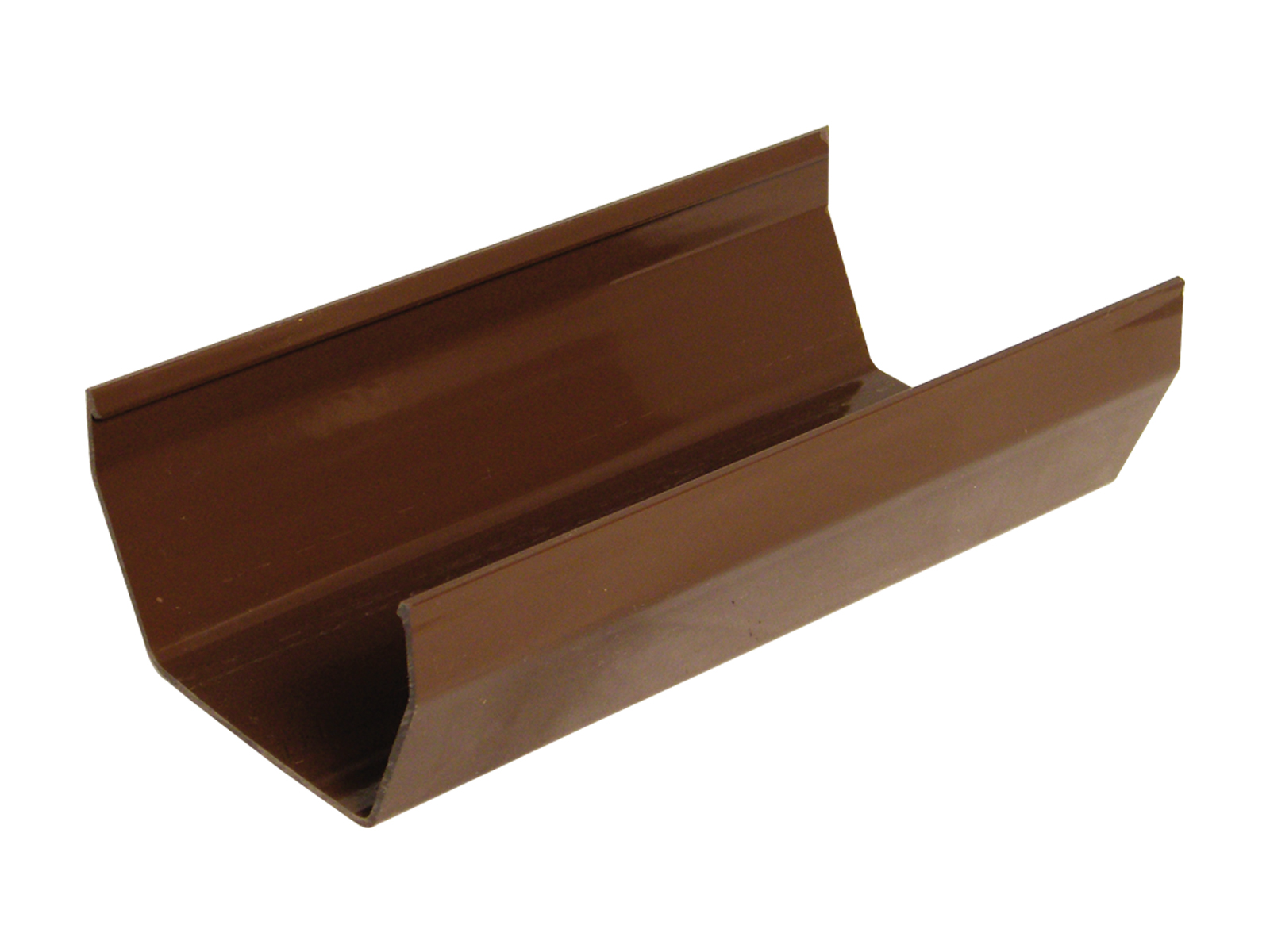 RGS4BR 114MM SQUARE GUTTER BROWN
