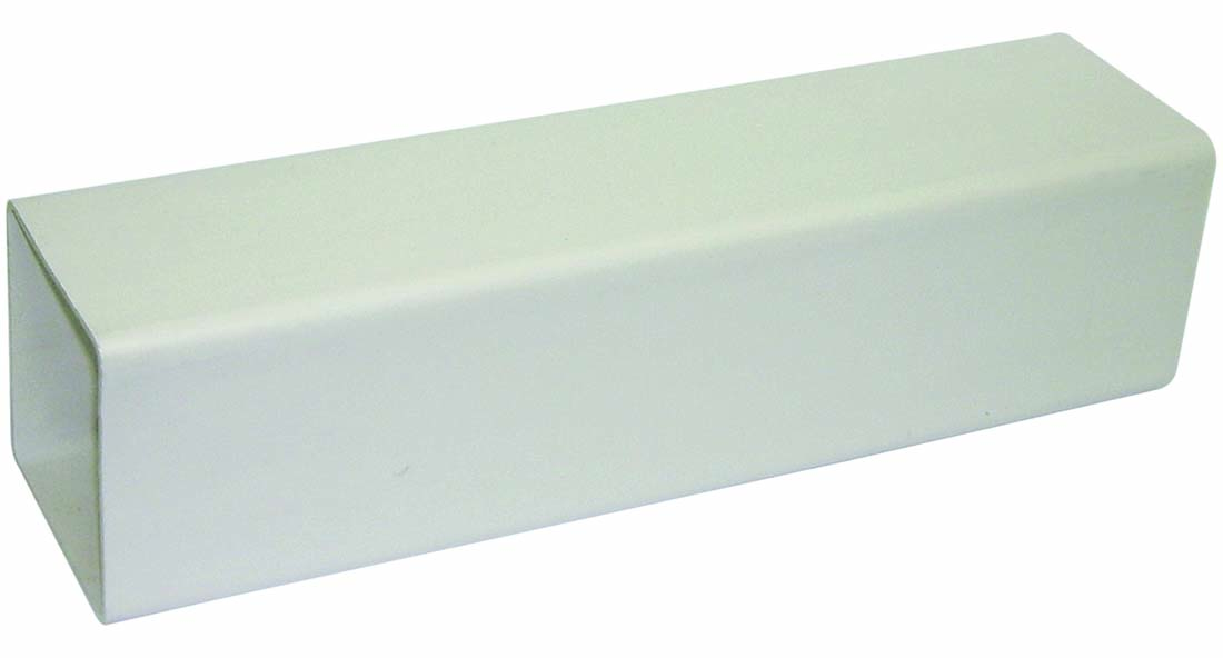 FLOPLAST 65MM SQUARE DOWNPIPE - RPS5.5 PIPE 5.5M - WHITE