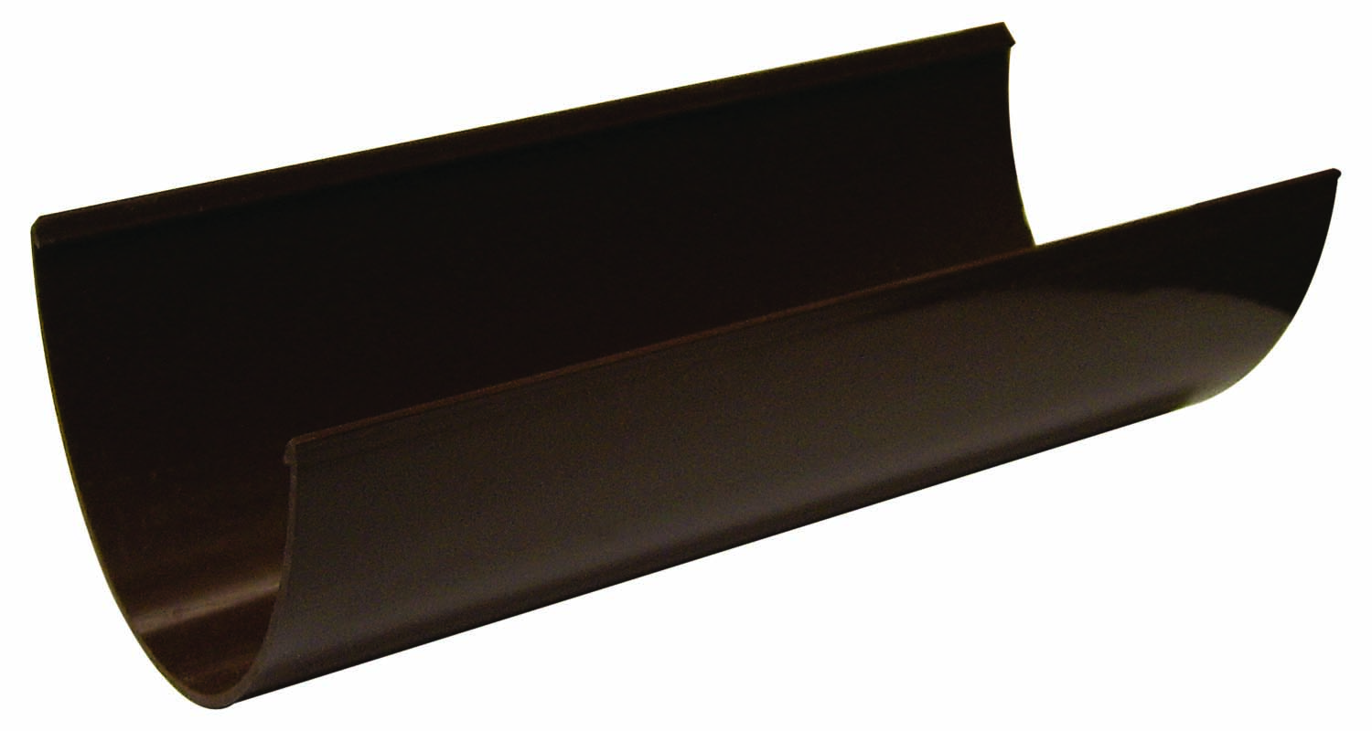 RGH4BR 115MM HI-CAP GUTTER BROWN