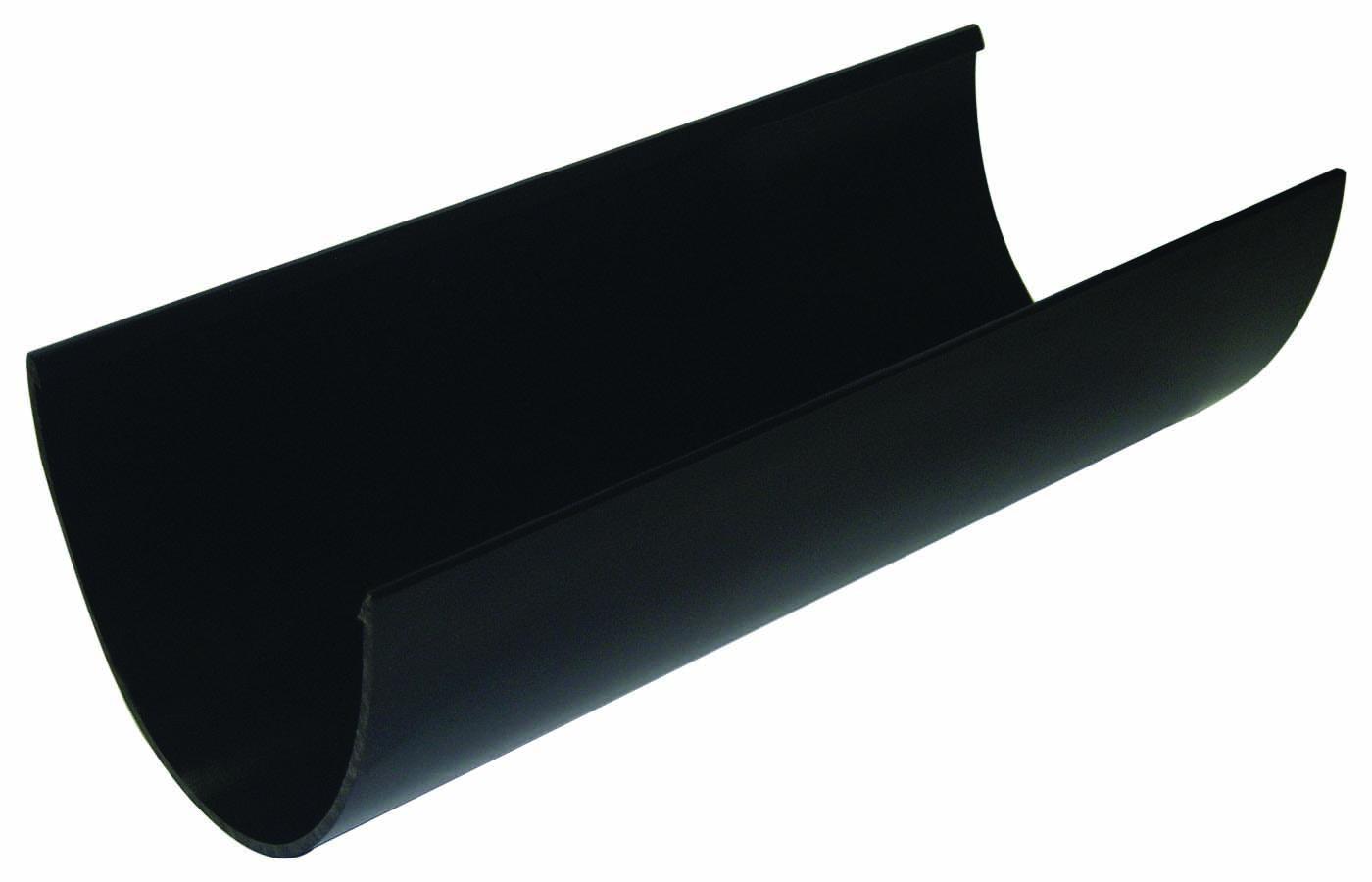 FLOPLAST HI-CAP GUTTER - RGH4 GUTTER - BLACK