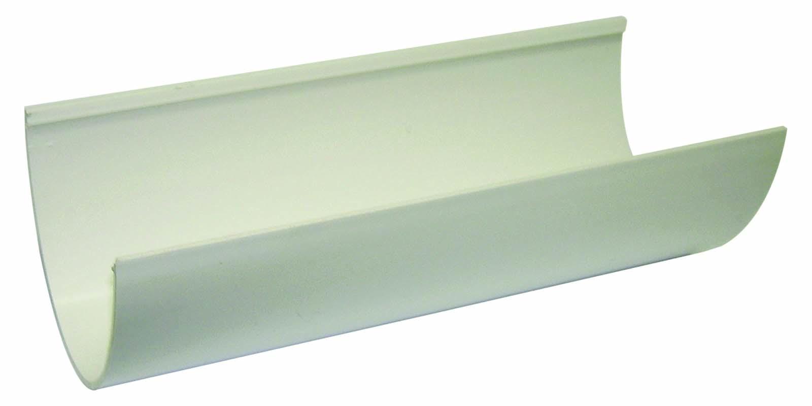 FLOPLAST HI-CAP GUTTER - RGH4 GUTTER - WHITE