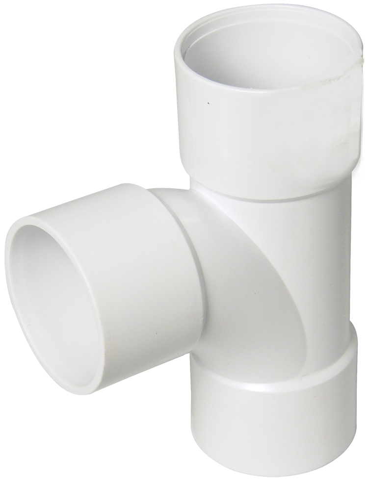Floplast WS22WH 32mm (36mm) ABS Solvent Weld Waste System Tee - White