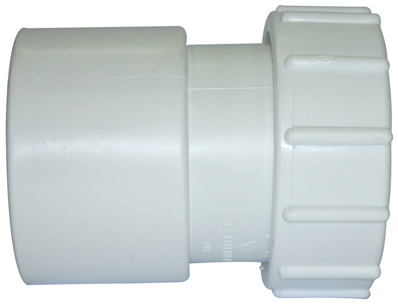 Floplast WS66WH 32mm (36mm) ABS Solvent Weld Waste System Female Adaptor - White