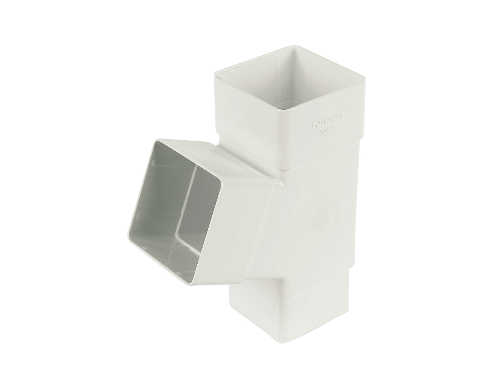 FLOPLAST RYS1WH 65MM SQUARE DOWNPIPE - 67.5